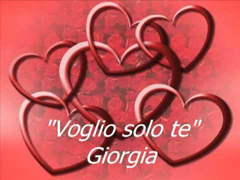 Giorgia - Voglio Solo Te
