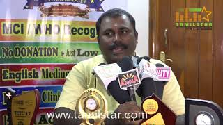 UV Gullas Education Counselor V.PKS.Athithan Press Meet