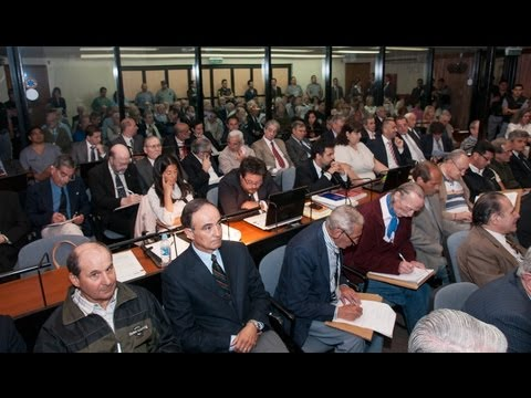 Comenz� este mi�rcoles un nuevo juicio oral por cr�menes en la ESMA
