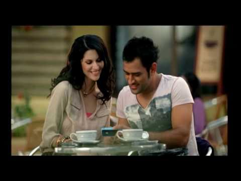 Funny Commercial : MS Dhoni in Aircel Pocket ...