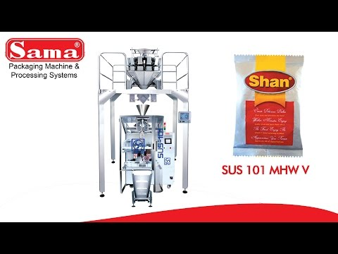 Spices (Masala) Packing Machine - SHAN Foods