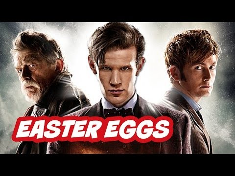 Doctor Who 50th Anniversary Episode Easter Eggs - Part 2