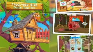 Treehouse Club Toys TutoTOONS Kids Educational  Games Android İos Free Game GAMEPLAY VİDEO
