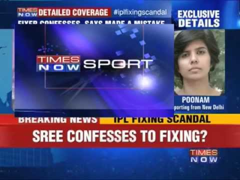 IPL Spot-Fixing: Sreesanth confesses to betting