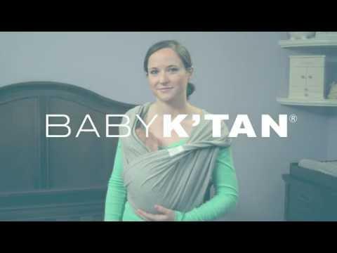 Baby K'tan Kangaroo Position Instructions