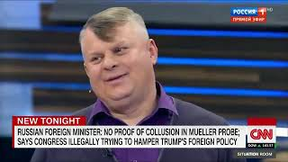 Russian talk show says Trump is battling 'deep state'
