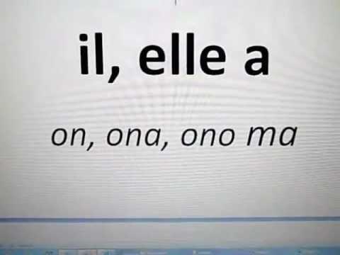 Francuski Dla Początkujących - Czasownik