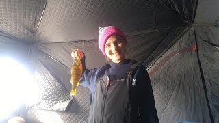 ICE FISHING Starvation Reservoir! We caught over 70 FISH!!!