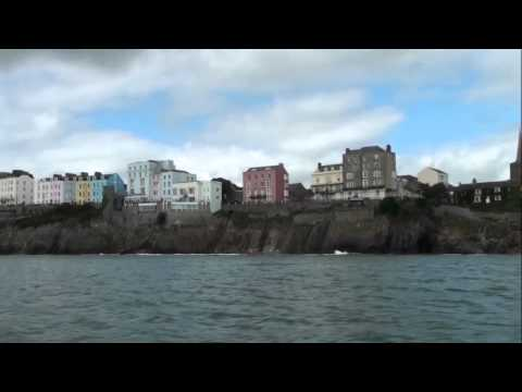 Boat to Caldey Island  Tenby September 1, 2014