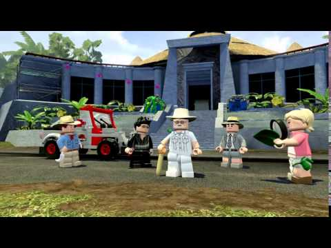LEGO: Jurassic World - скачать через торрент игру