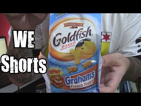 WE Shorts - Goldfish Grahams French Toast