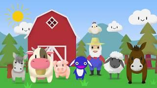 Old MacDonald had a farm   Nursery rhyme with animals   Moogoopi Kids' farm animal song