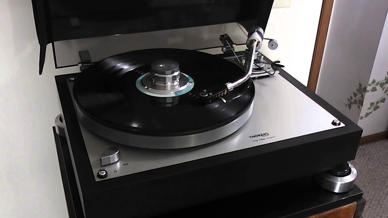Thorens 160 Turntable Thorens 160 Super