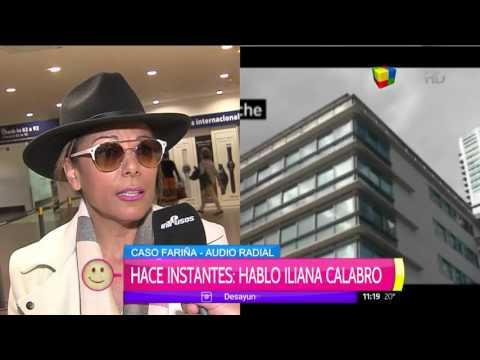 Iliana Calabró se defendió ante los vínculos con la ruta del dinero K