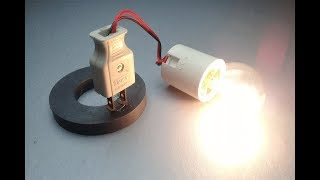 Forever Free Energy Running Device Using With Speaker Magnet -Electricity Science Project New
