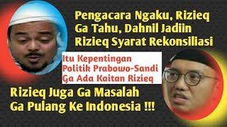 Ternyata, Rizieq Shihab Ga Masalah Ga Pulang Ke Indonesia