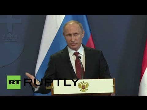 LIVE: Putin addresses rally in Moscow dedicated to Crimea's reunification with Russia