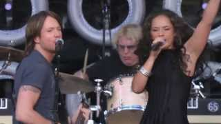 Keith Urban Video - Keith Urban & Alicia Keys - Gimme Shelter - Live Earth in New York 7-7-2007