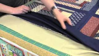 Le quilt as you go, technique de patchwork machine