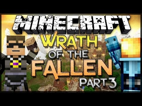 Minecraft: Wrath of the Fallen w SkyDoesMinecraft Part 3
