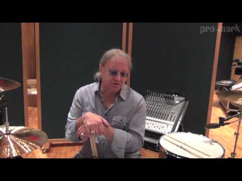 ProMark Drumsticks: Ian Paice of Deep Purple Discusses His Lefty Drum Kit and his 14