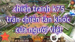 youtube B2W game lords mobile việt nam trận chiến tàn khốc của người việt tập 1