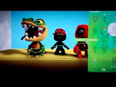 Little Big Planet 2 DLC Costumes