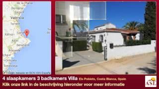 4 slaapkamers 3 badkamers Villa te Koop in Els Poblets, Costa Blanca, Spain