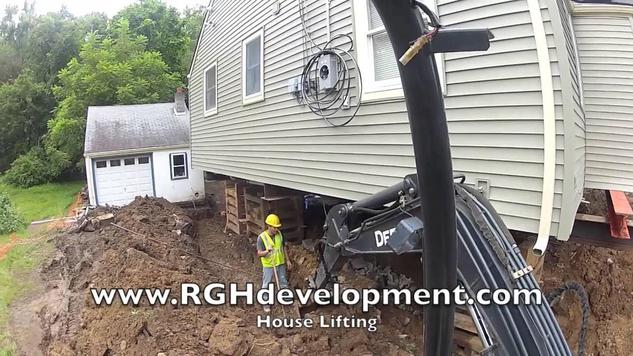 Nj House Lifting Raising Process Youtube