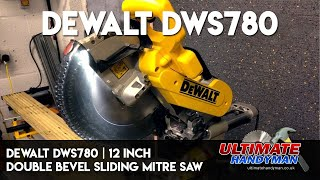 Dewalt DWS780 | 12 inch double bevel sliding mitre saw