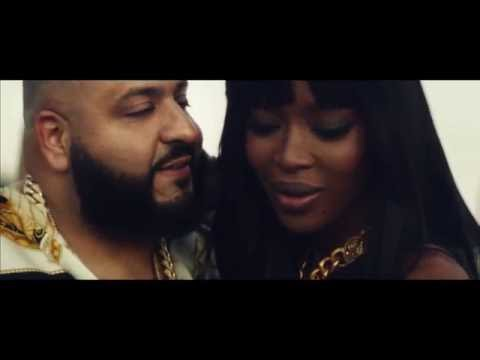 Dj Khaled Shares A Kiss With Naomi Campbell! (Apple Music Commercial)