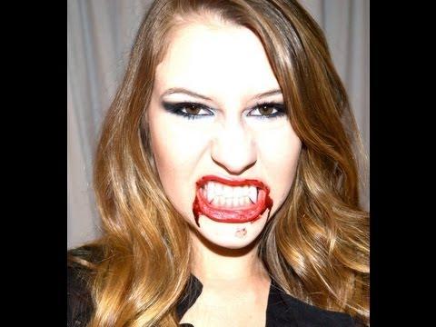 Vestir Uma Vampira Halloween Seja Uma Vampira