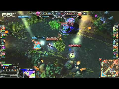Round 2 Group A : Crs.eu vs Acer - LoL ECC: Poland, Warsaw 28-29.07.2012