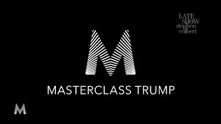 Donald Trump's Masterclass: Another Thing Nobody Asked For