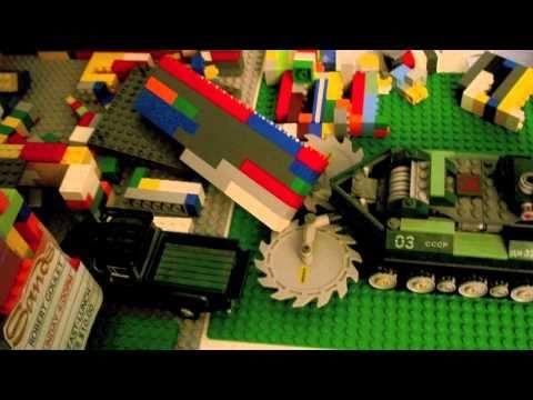 Lego Las Vegas Sands Hotel Implosion
