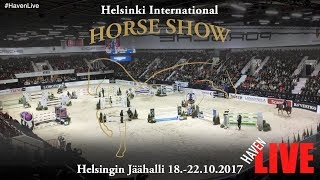 Helsinki International Horse Show 18-22.10.2017  - Day 2 - Thu