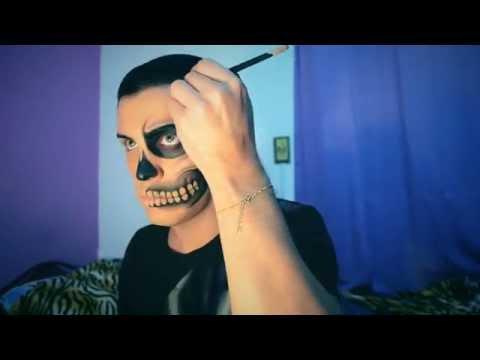 Maquiagem de Caveira By Raffa Rosa