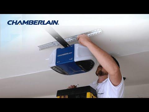 Chamberlain® Wi-Fi Garage Door Opener Installation Highlights