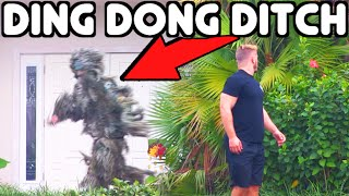 PRANK GONE WRONG!! 3 Step Ghillie Suit Ding Dong Ditch!