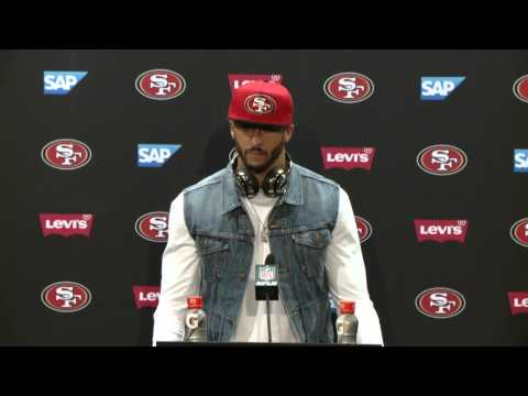 49ers Vs Cardinals Postgame Press Conference - Colin Kaepernick