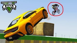 GTA V Online: BMX vs SUPER CARROS - O KILL VOADOR!!!