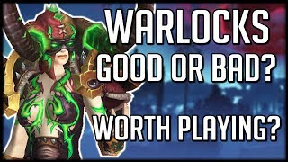 WARLOCKS IN BFA - Are They Worth Playing? Good or Bad? | WoW Battle for Azeroth