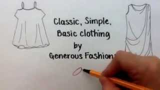 Women's Plus Size Clothing Fashion:  Designing Clothing for Larger Women