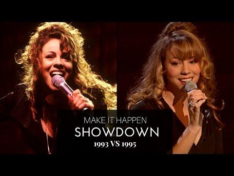 Make It Happen (1993 vs 1995 SHOWDOWN) | Mariah Carey