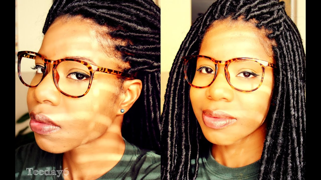 Crochet Braids Faux Locs : Crochet Braids with Faux Locs