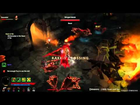 PS3 – DIABLO 3 – DAY 13 – going for WORLD FIRST Paragon Level 100