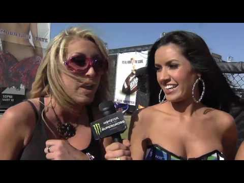 Supercross - Las Vegas 2010 - Spike Girl Spanks Video