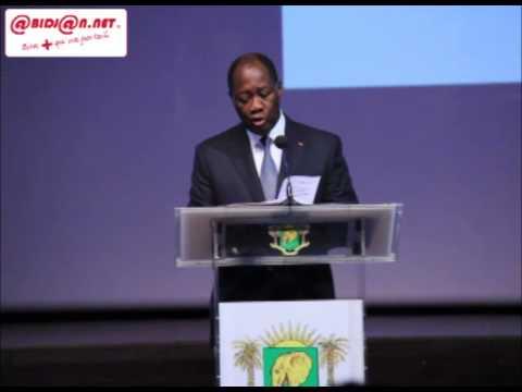 CIEA 2015: discours d'ouverture de SEM. Alassane Ouattara