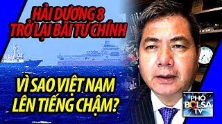Tàu Hải Dương 8 trở lại Bãi Tư Chính, vì sao Việt Nam lên tiếng chậm?