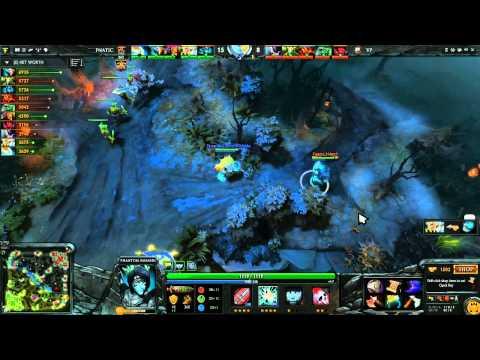 Fnatic vs Virtus Pro Game 2   Dota 2 Champions League @DotaCapitalist